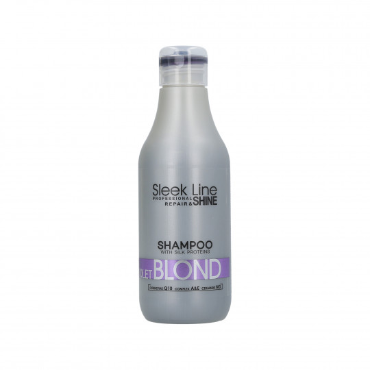 STAPIZ SLEEK LINE VIOLET BLOND Shampooing neutralisant couleur 300ml
