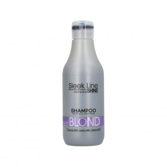 STAPIZ SLEEK LINE VIOLET BLOND Shampooing neutralisant couleur 300ml - 1