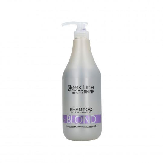 STAPIZ SLEEK LINE VIOLET BLOND Shampooing neutralisant couleur 1000ml - 1