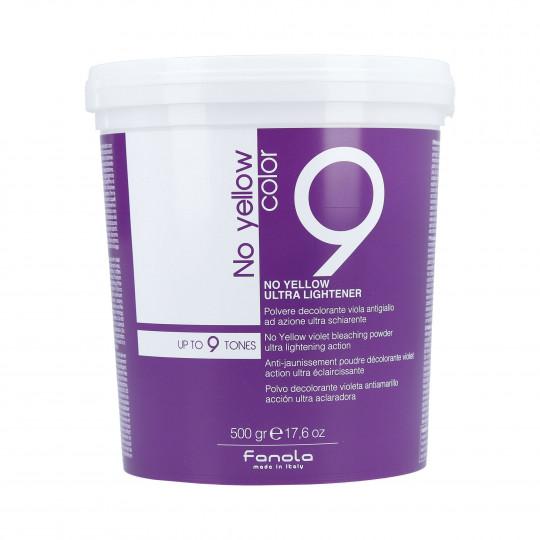 FANOLA NO YELLOW Anti-jaunissement poudre décolorante Violet 500g - 1