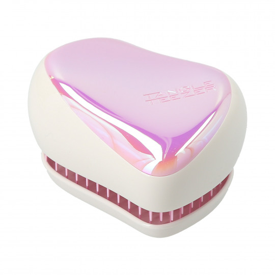 TANGLE TEEZER Compact Styler Pink Holographic - Brosse à cheveux démêlante