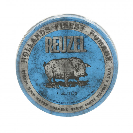 REUZEL Blue Strong Hold Pommade pour cheveux 113g - 1