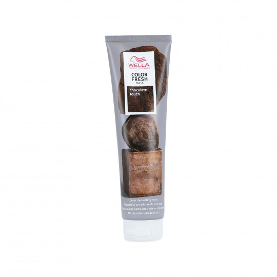 WELLA PROFESSIONALS COLOR FRESH Masque colorant pour cheveux Chocolate Touch 150ml - 1