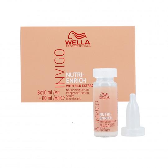 WELLA PROFESSIONALS INVIGO NUTRI-ENRICH Sérum pour cheveux secs 8x10ml