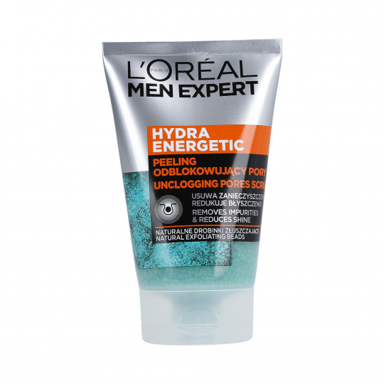 L'OREAL PARIS MEN EXPERT Hydra Energetic Peeling anti-pores encrassés 100ml