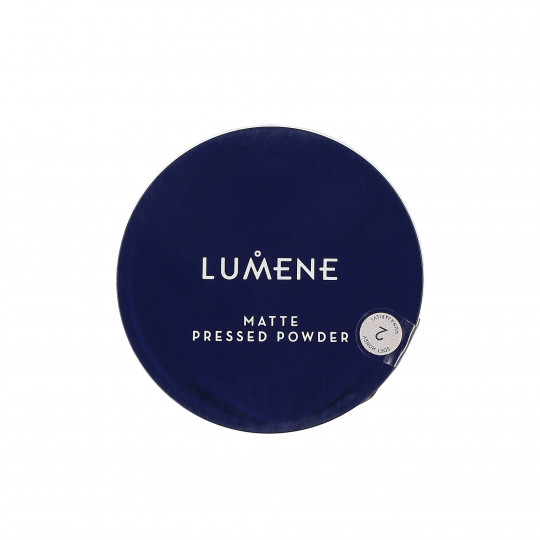 LUMENE Poudre matifiante visage 2 Soft Honey 10g - 1
