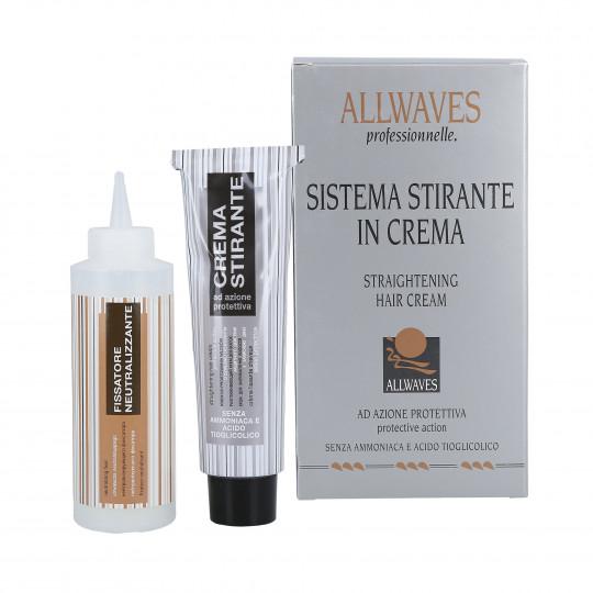 ALLWAVES LISSAGE HAIR CREAM Crème lissante 48ml + 100ml - 1
