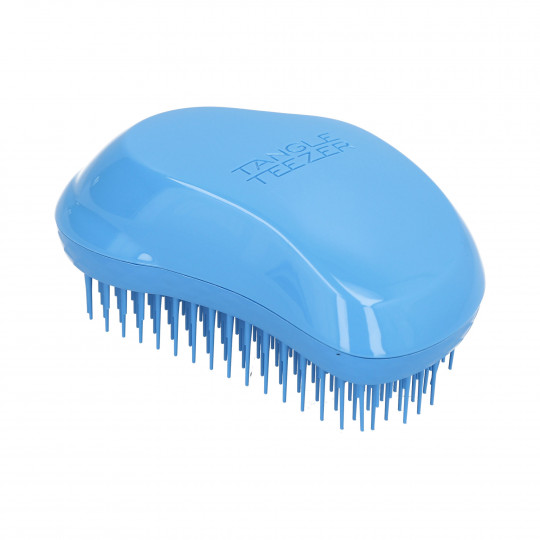 TANGLE TEEZER The Original Thick & Curly Azure Blue - Brosse à cheveux démêlante - 1