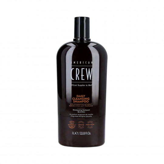 AMERICAN CREW Daily Shampooing pour cheveux 1000ml - 1