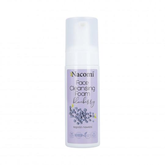 NACOMI Mousse nettoyante visage aux myrtilles 150ml - 1