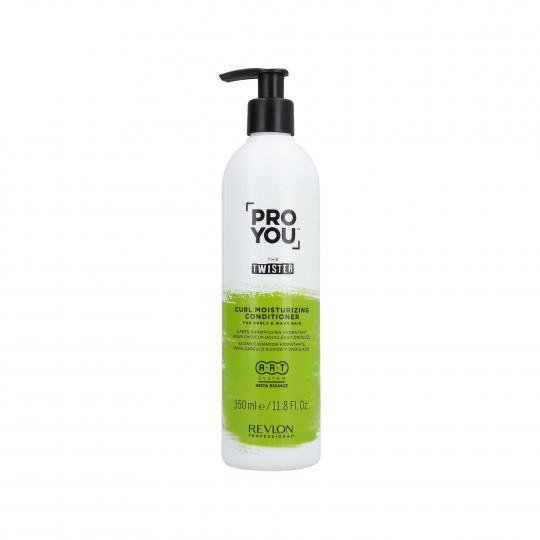 REVLON PROYOU CURL MOISTURIZING Après-shampooing hydratant pour cheveux bouclés 350ml - 1