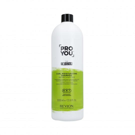 REVLON PROYOU CURL MOISTURIZING Shampooing hydratant pour cheveux bouclés 1000ml - 1