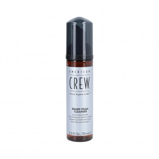 AMERICAN CREW BEARD Mousse nettoyante à barbe 70 ml - 1