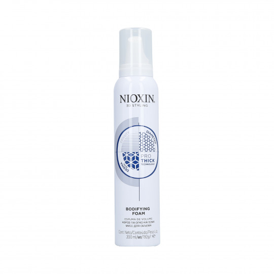 NIOXIN 3D STYLING Mousse volume cheveux 200ml - 1