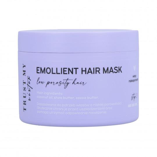 TRUST MY SISTER Masque émollient pour cheveux à faible porosité 150g - 1