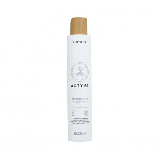 KEMON ACTYVA BELESSERE Shampooing pour cuir chevelu sensible 250ml - 1