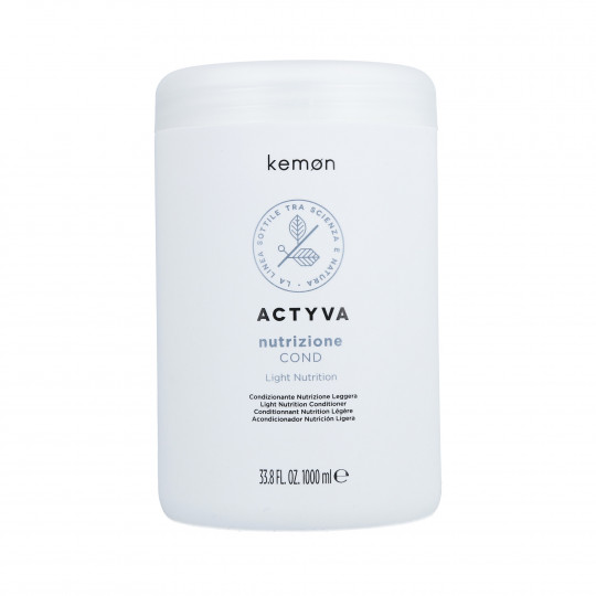 KEMON ACTYVA NUTRITION Après-shampoing pour cheveux secs 1000ml - 1