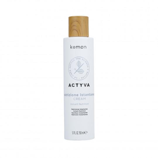KEMON ACTYVA NUTRIZIONE ISTANTANEA Crème pour cheveux secs 150ml - 1