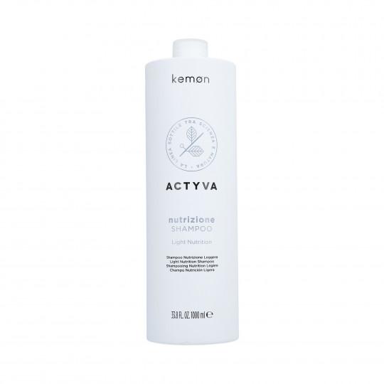 KEMON ACTYVA NUTRIZIONE Shampooing pour cheveux secs 1000ml - 1