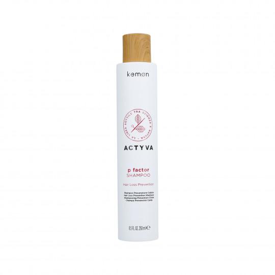 KEMON ACTYVA P FACTOR Shampooing pour la chute des cheveux 250ml - 1