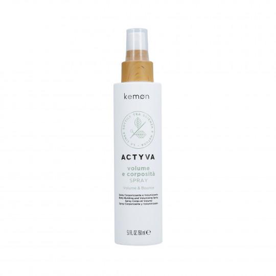 KEMON ACTYVA VOLUME & BOUNCE Spray donnant du volume aux cheveux 150ml - 1