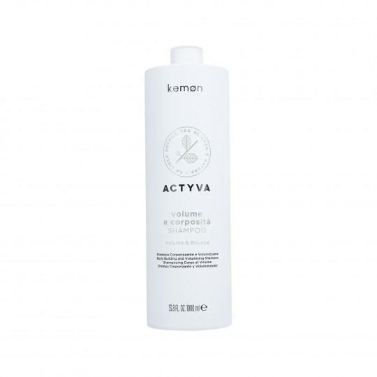 KEMON ACTYVA VOLUME & BOUNCE Shampooing pour cheveux sans volume 1000ml - 1
