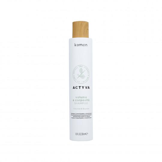 KEMON ACTYVA VOLUME & BOUNCE Shampooing pour cheveux sans volume 250ml - 1