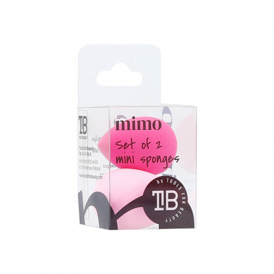 MIMO Mini Éponge 2 Unités Rose Et Fuchsia - 1