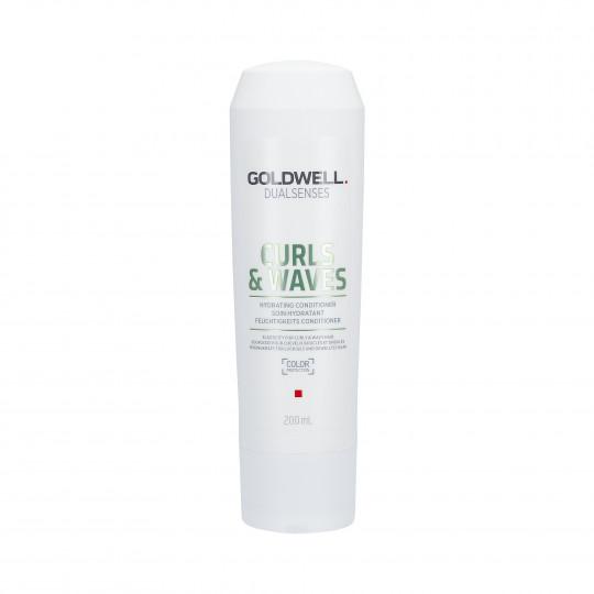 GOLDWELL DUALSENSES CURLS & WAVES Après-shampooing hydratant 200ml - 1