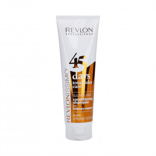 REVLON REVLONISSIMO 45 DAYS Intense Coppers Shampooing et après-shampooing 275ml - 1