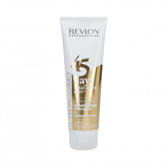REVLON REVLONISSIMO 45 DAYS Golden Blondes Shampooing et après-shampooing 275ml - 1