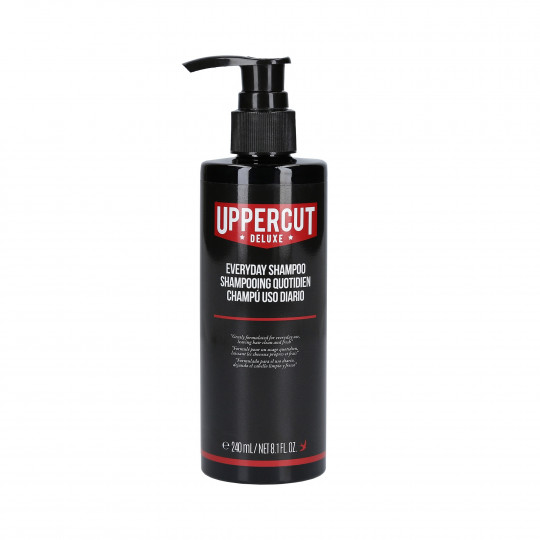 UPPERCUT DELUXE Shampooing à usage quotidien 240ml - 1