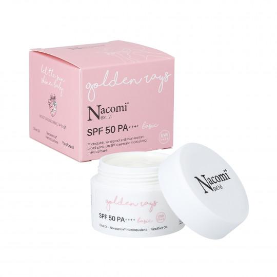 NACOMI NEXT LEVEL Crème visage SPF 50 PA ++++ BASIC 50ml - 1