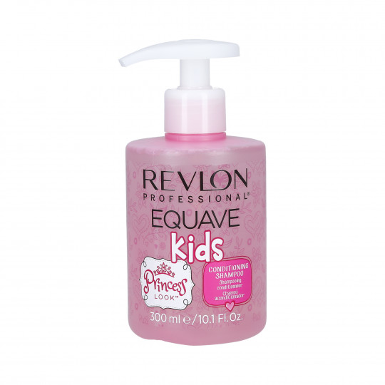 REVLON EQUAVE KIDS Shampoing Bébé Look Princesse 300ml - 1