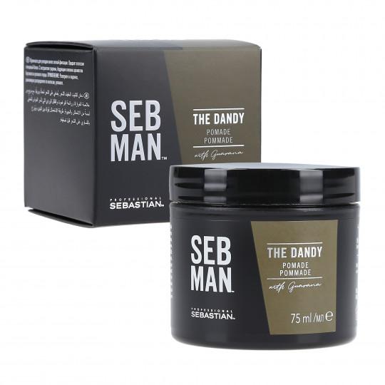 SEBASTIAN SEB MAN THE DANDY Pommade cheveux clair 75ml - 1