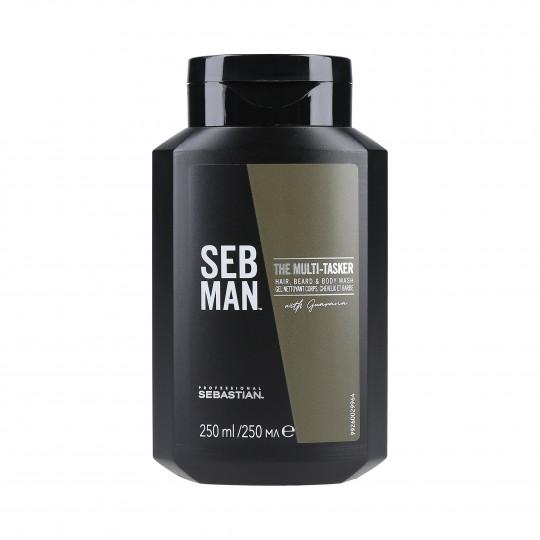 SEBASTIAN SEB MAN Gel lavant 3en1 250ml - 1