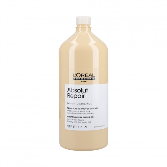 L'OREAL PROFESSIONNEL ABSOLUT REPAIR Shampooing restructurant Gold Quinoa + Protein 1500ml - 1