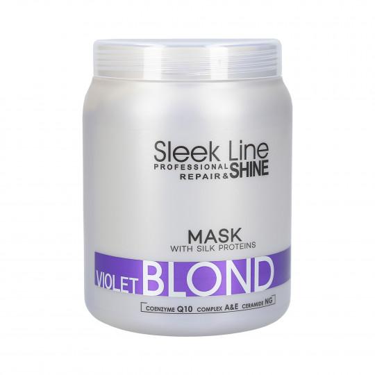 STAPIZ PROFESSIONAL SLEEK LINE VIOLET BLOND Masque capillaire 1000ml - 1