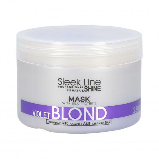 STAPIZ PROFESSIONAL SLEEK LINE VIOLET BLOND Masque capillaire 250ml - 1