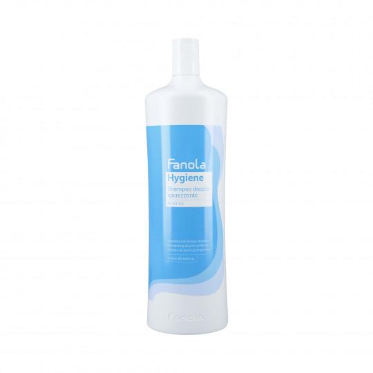 FANOLA HYGIENE Shampooing nettoyant pour cheveux et corps 1000ml - 1