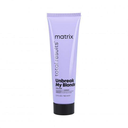 MATRIX TOTAL RESULTS Unbreak My Blonde Traitement Sans Rinçage 150ml - 1