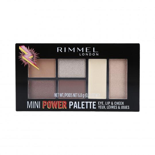 RIMMEL MINI POWER Palette de maquillage 002 Sassy 7.82g - 1