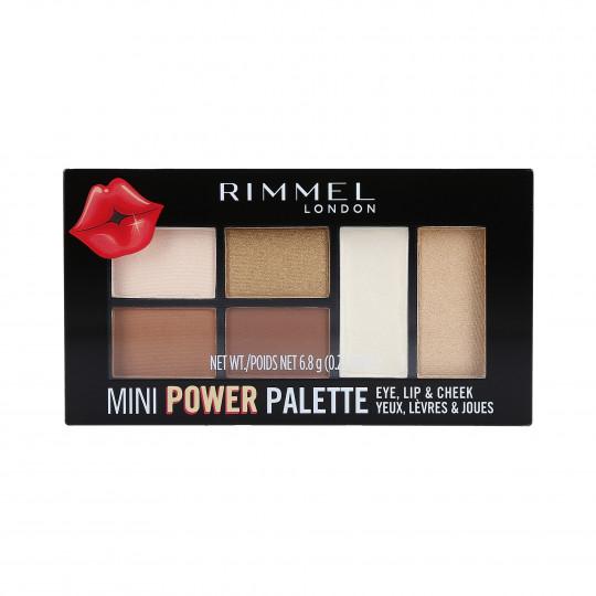 RIMMEL MINI POWER Palette de fards à paupières 001 Fearless 6.8g - 1