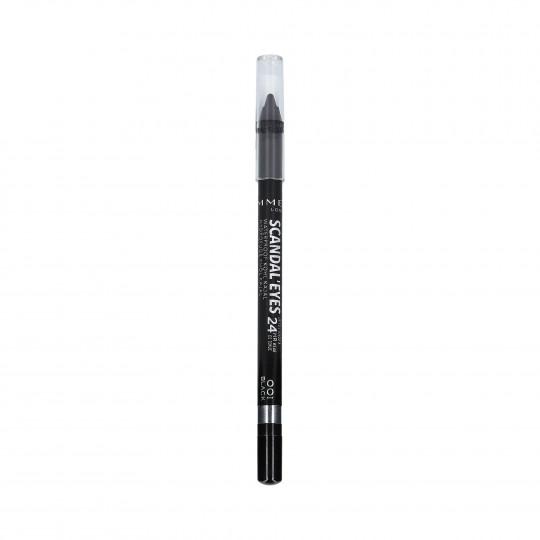 RIMMEL SCANDAL'EYES KOHL KAJAL Eyeliner waterproof 001 Noir 1.2g - 1