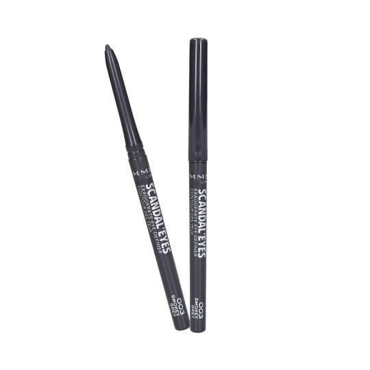 RIMMEL SCANDAL'EYES EXAGGERATE Eyeliner 003 Smoky Grey - 1