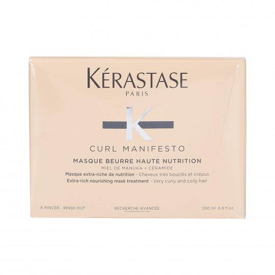 KÉRASTASE CURL MANIFESTO Masque hydratant pour cheveux bouclés 200ml - 1
