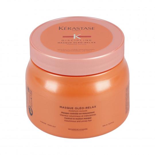 KÉRASTASE DISCIPLINE OLÉO-RELAX Masque fortifiant pour cheveux 500ml - 1