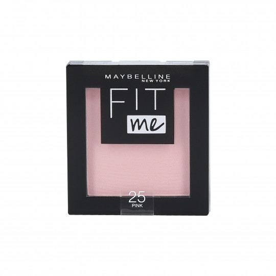 MAYBELLINE FIT ME Blush 25 Pink 5g - 1