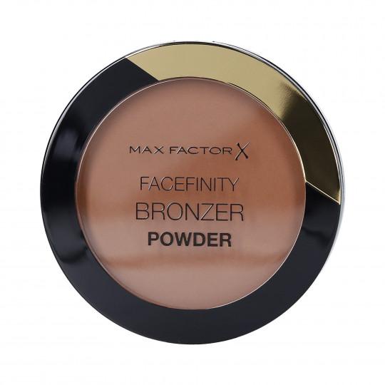 MAX FACTOR FACEFINITY Poudre bronzante mate pour le visage 02 Warm Tan - 1