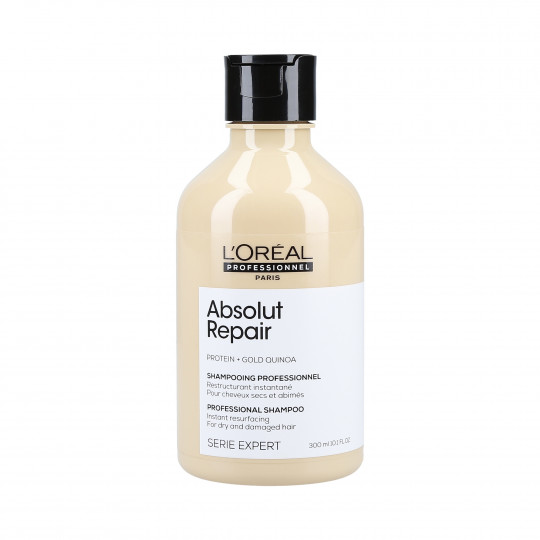 L'OREAL PROFESSIONNEL ABSOLUT REPAIR Shampooing restructurant Gold Quinoa + Protein 300ml - 1